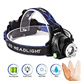 LED Headlamp Flashlight, Lufei LED Super Bright Head Torch Headlight - Ultimate in Camping headlamps & Great Addition to Camping and Hiking Equipment.