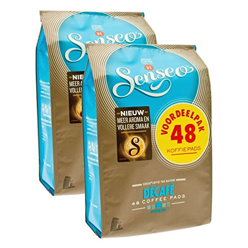 Senseo D?caf?/Decaffeinated, New Design, Pack of 2, 2 x 48 Coffee Pods