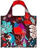 LOQI Forest Bird Reusable Shopping Bag, Multicolor