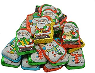 Foil Wrapped Milk Chocolate Santas Helpers - 5 lb.