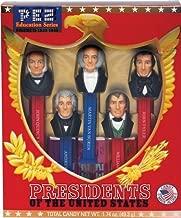 PEZ Presidents Volume 2 Limited Edition Collectible Gift Set (John Quincy Adams, Andrew Jackson, Martin Van Buren, William Henry Harrison, and John Tyler) 0802