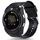 Welltech V9 Smart Watch (Black, Vibe_P1)