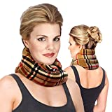 Neck Warmer Microwavable Heating Pads - Warmies, Moist, Heated Neck Wrap & Pillow in One - Microwave Heating Pad for Neck & Shoulders - Neck Thermal Warmer by Sunnybay (London)
