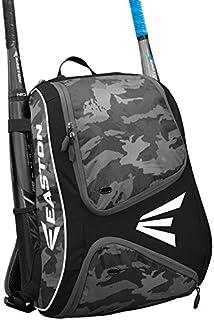 EASTON E110BP Bat & Equipment Backpack Bag, 2021, Baseball Softball, 2 Bat Sleeves,..