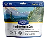 Backpacker's Pantry Blueberry Walnut Oats   Freeze Dried Backpacking & Camping Food   Emergency Food   13 Grams of Protein, Vegan, Gluten-Free   1 Count