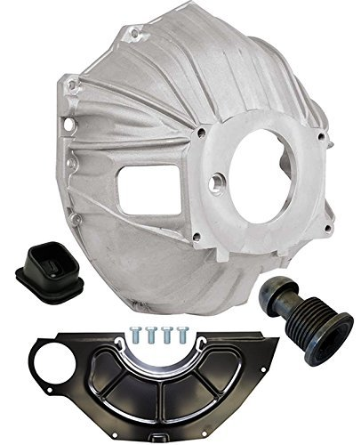 NEW SWS CHEVY ALUMINUM BELLHOUSING, FLYWHEEL INSPECTION COVER, CLUTCH FORK BOOT & CLUTCH PIVOT BALL, GM 621 3899621 REPLACEMENT FOR SBC & BBC FOR 11