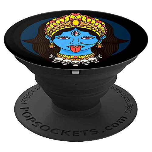 Kali Dark Hindu Goddess PopSockets Grip and Stand for Phones and Tablets