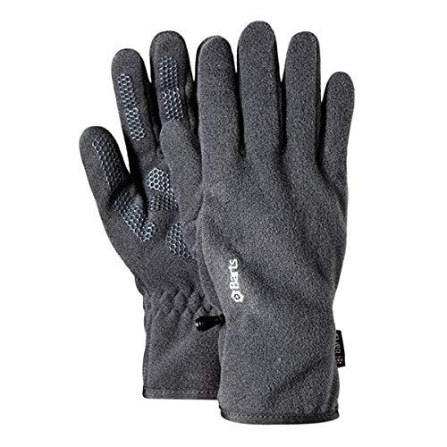 Barts Unisex Fleece Handschuhe, Grau, One size