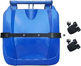 Vtete Trash Can Lid Strap 2 Set Replace Lock Buckle with Keys - Garbage Bin Lock Buckle Strap and Security System, Include Instructions and Screws