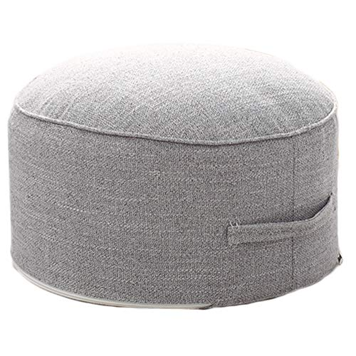 Small Pouf for Kids Foot Stools Ottomans - Foot Rest Pouffe for Sitting, Ottoman Pouf for Living Room Small Space, Lightweight & Handle Design for Easy Removal 14