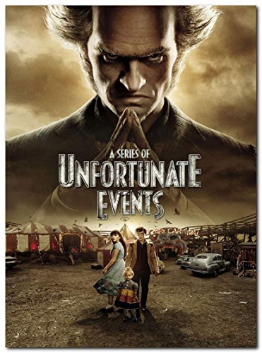 A Series of Unfortunate Events Tv Series Poster (13 x 19 inch / 33 x 48 cm) unframed, Display Ready Photo Print