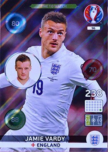carte PANINI EURO 2016 #96 Jamie Vardy
