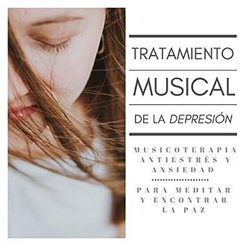 Tratamiento Musical de la Depresión: Musicoterapia Antiestrés y Ansiedad para Meditar y Encontrar la Paz