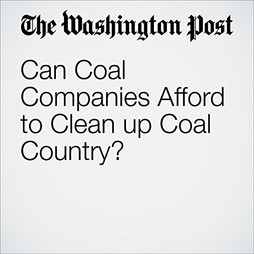 Can Coal Companies Afford to Clean up Coal Country? cover art