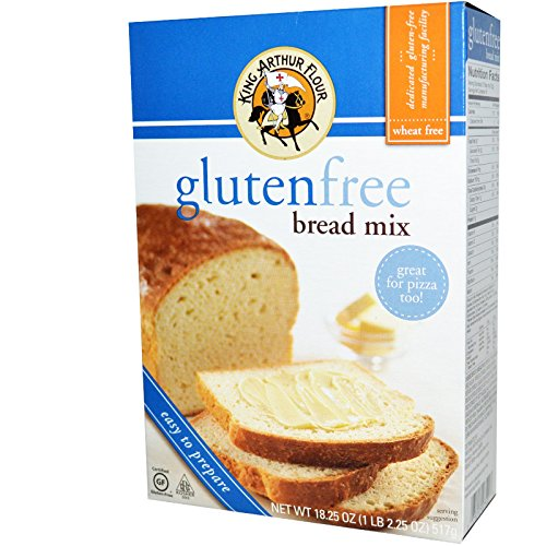 King Arthur Flour, Gluten Free Bread Mix, 18.25 oz (517 g)(PACK 1)