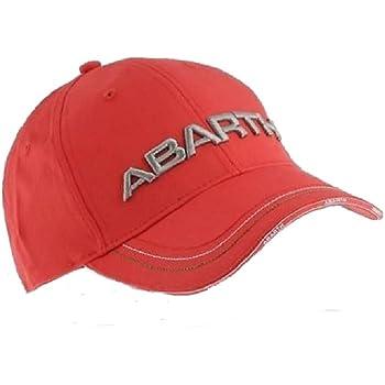 Abarth 21733/Gorro Negro con visera Curva