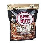 BEER NUTS Original Bar Mix -32 oz Resealable Bag, Pretzels, Cheese Sticks, Sesame Sticks, Roasted Corn Nuts, and Original Peanuts