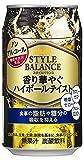 アサヒスタイルバランス 香り華やぐハイボールテイスト 350ml 6缶