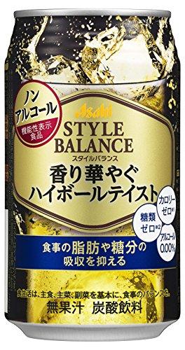 アサヒスタイルバランス 香り華やぐハイボールテイスト [ ノンアルコール 缶350ml ]