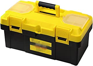 Xuan Yuan Tool Storage Box-Plastic Environmental Protection Material Household car Parts Box Plastic Suitcase Double-Layer Toolbox Multi-Function Repair Box Tool Boxes (Size : 300x130x150mm)
