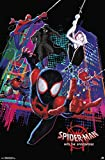 Trends International Comics Movie Enter Marvel Cinematic Universe Man: Into The Spider-Verse-Group, 22.375' x 34', Unframed Version