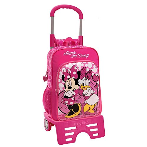 Disney Minnie et Daisy Nice Day Sac Scolaire, 40 cm, 15,6 L, Rose