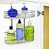 Lynk Over Cabinet Door Organizer - Double Shelf - w/Molded Tray - Chrome...
