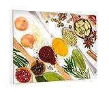 Impression Murale - Fond de hotte, crédence de cuisine en Verre de synthèse avec...