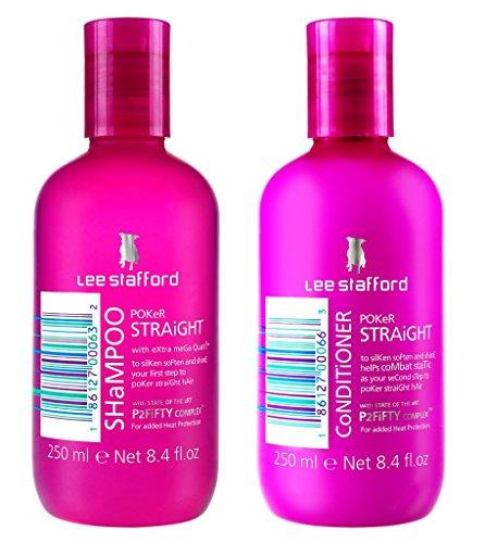 Lee Stafford Poker Straight Moisturising and Nourishing Shampoo &...