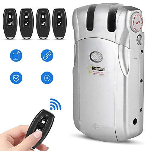 Cerradura electrónica, Cerradura de Control Remoto, Cerradura electrónica de Control Remoto inalámbrico sin Llave Invisible