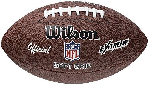 Wilson American Football, Offizieller NFL Ball, Gummi, F1645X, Extreme, Braun