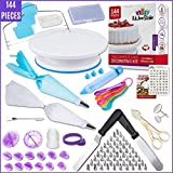 Best Cake Boss Turntables - Kitchen Strike Cake Decorating Kit - 144 Piece Review