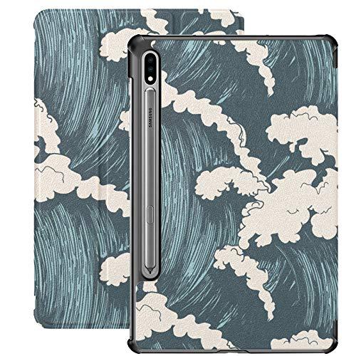 Ocean Waves Sea Wave Samsung Galaxy Tab S7 Funda para Samsung Galaxy Tab S7/S7 Plus Samsung Galaxy S7 Funda con soporte para Samsung Galaxy Tab S7 11 pulgadas S7 Plus 12.4 pulgadas