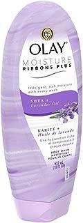 OLAY Moisture Ribbons Plus, Shea plus Lavender Oil 18 oz (Pack of 2)