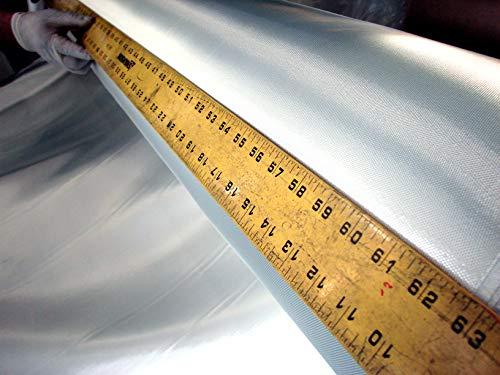 Fiberglass Cloth Boat Building Fabric 4 Kayak & Canoe - 8 Harness Satin Weave -...