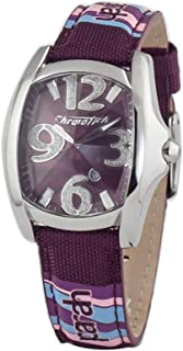 Chronotech Womens Analogue Quartz Watch with Leather Strap CT7988L-65