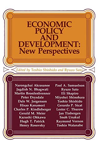 Economic Policy and Development: New Perspectives