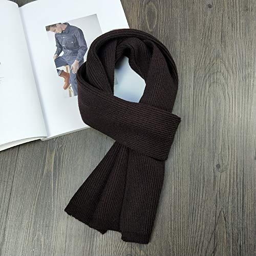 OMING Bufandas de cachemira sólidas para mujer, para invierno, cálidas, suaves, chales de color puro, para parejas, bufandas largas de lana para mujer (color: 15, talla: talla única)