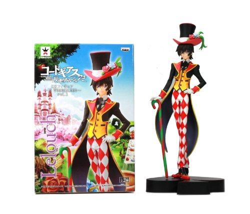 Vol.1 Lelouch Lamperouge single item Rebellion R2 DX Figure ~ IN WONDERLAND ~ Code Geass: Lelouch of the (japan import)