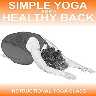 Simple Yoga for a Healthy Back cover art