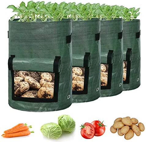 BellePons Potato Grow Bags Potato Planters with Flap and Handles Vegetables Garden Planting product image