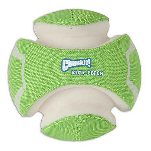 Chuckit! Kick Fetch Ball Dog Toy Interactive Play 2 Sizes,Max Glow