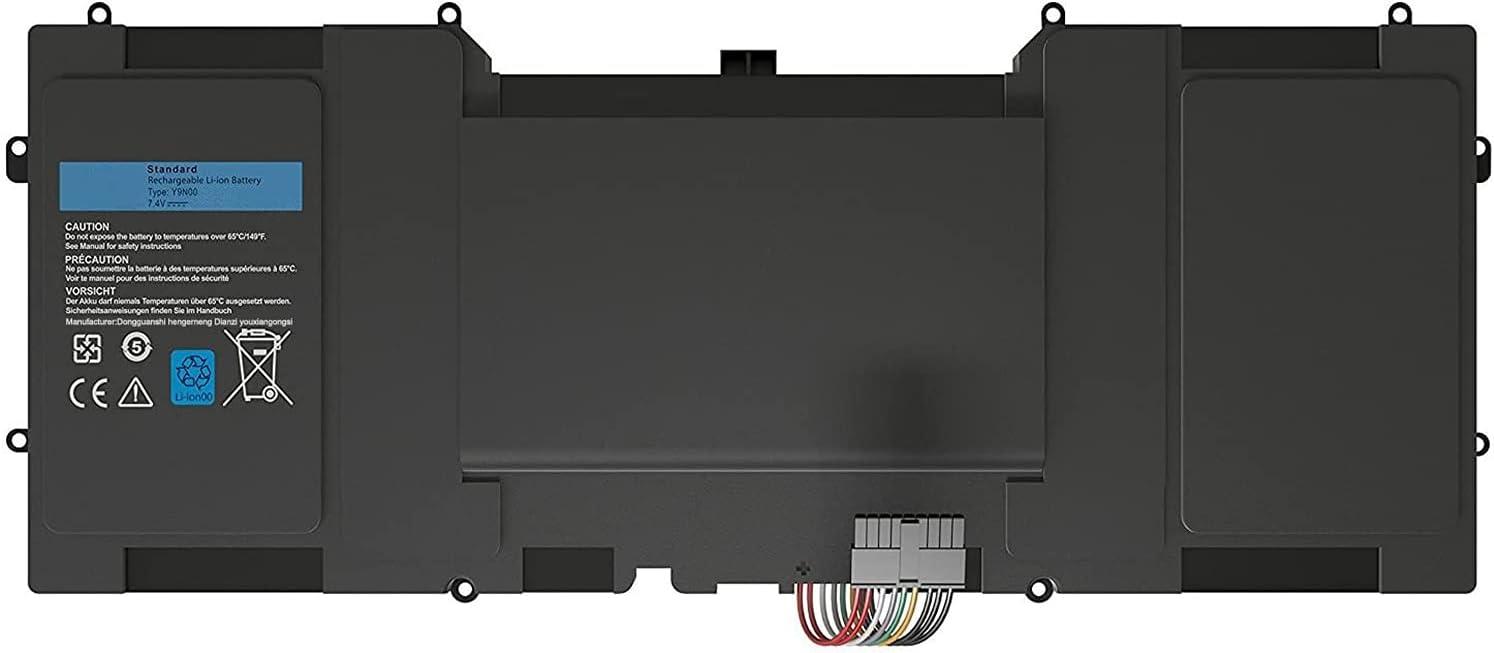 Y9N00 489XN WV7G0 PKH18 9Q23 Laptop Battery Replacement for Dell XPS 12 XPS 13-l321x XPS 13-l322x XPS L321x Series(7.4V 47Wh)