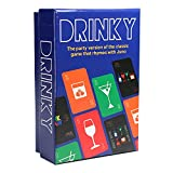 Drinky - Party Game of The Classic Game That Rhymes with Juno - Fun Adult...