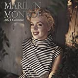 2021 Wall Calendar - Marilyn Monroe Calendar, 12 x 12 Inch Monthly View, 16-Month, Includes 180 Reminder Stickers