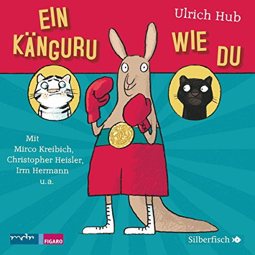 Ein Känguru wie du audiobook cover art