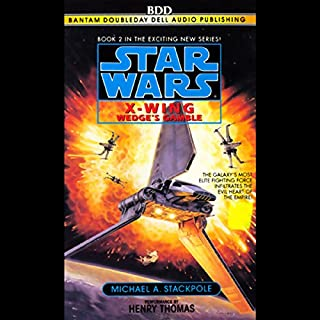 Star Wars: The X-Wing Series, Volume 2: Wedge's Gamble audiobook cover art