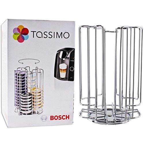Porta CAPSULAS DISPENSADOR TASSIMO Bosch Giratorio para 52 T.Disc