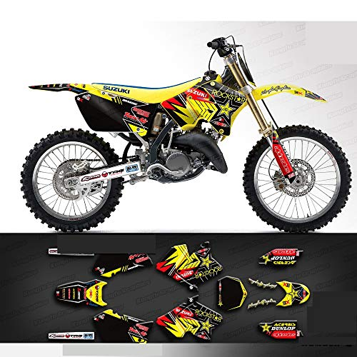 Kungfu Graphics Custom Decal Kit for Suzuki RM125 RM250 2004 2005 2006 2007 2008 2009 2010 2011 2012, SZRM250112004