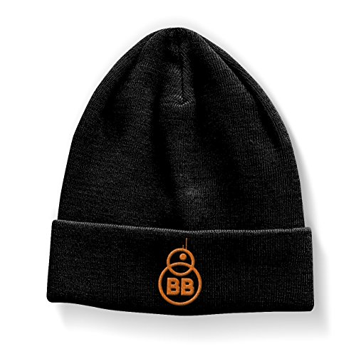 Star Wars Officiellement Marchandises sous Licence BB-8 Bonnet (Noir)